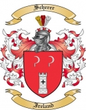 Scherer Family Coat of Arms from Ireland