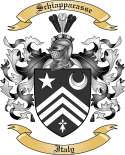 Schiappacasse Family Crest from Italy