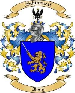 Schiavuzzi Family Coat of Arms from Italy