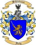 Schiavuzzi Family Crest from Italy