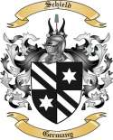 Schield Family Crest from Germany