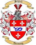 Schiele Family Crest from Germany2