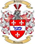 Schieler Family Crest from Germany2