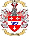 Schieli Family Crest from Germany2