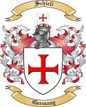 Schieli Family Crest from Germany