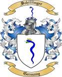 Schillinger Family Coat of Arms from Germany