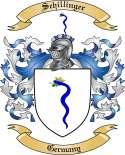 Schillinger Family Crest from Germany