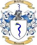 Schillok Family Crest from Germany