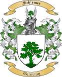 Schirmer Family Crest from Germany