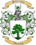 Schirrman Family Coat of Arms from Germany