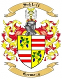 Schlaff Family Coat of Arms from Germany