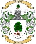 Schlag Family Crest from Germany
