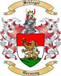 Schlagel Family Crest from Germany