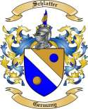 Schlatter Family Crest from Germany