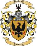 Schlauch Family Crest from Germany