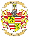 Schlefers Family Crest from Germany