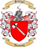 Schlegel Family Crest from Germany