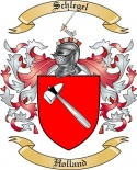 Schlegel Family Crest from Holland