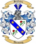 Schleten Family Crest from Germany2