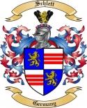 Schlett Family Crest from Germany