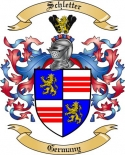 Schletter Family Crest from Germany