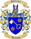 Schlosser Family Crest from Germany