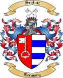 Schlutt Family Coat of Arms from Germany
