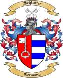 Schlutter Family Crest from Germany