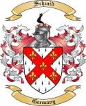 Schmid Family Crest from Germany