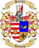 Schmidt Family Coat of Arms from Germany4