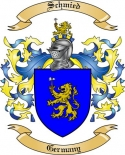 Schmied Family Crest from Germany2