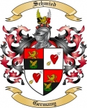 Schmied Family Crest from Germany3