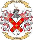 Schmiedhaus Family Coat of Arms from Austria