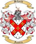 Schmitt Family Coat of Arms from Austria