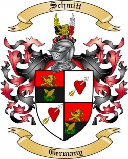 schmitt family crest from germany3 by the tree maker
