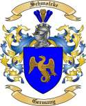 Schmolcke Family Coat of Arms from Germany