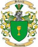 Schneid Family Crest from Germany2