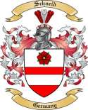 Schneid Family Crest from Germany
