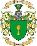 Schneider Family Coat of Arms from Germany2
