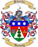 Schneiter Family Crest from Germany