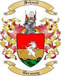 Schnell Family Coat of Arms from Germany2