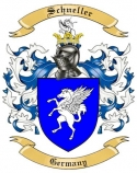 Schneller Family Crest from Germany