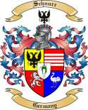 Schnurr Family Coat of Arms from Germany