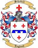 Schobell Family Coat of Arms from England