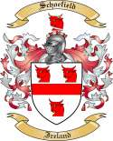 Schoefield Family Coat of Arms from Ireland