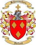 Schoenmakers Family Coat of Arms from Holland