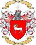 Schoff Family Crest from Germany