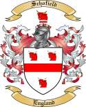 Schofield Family Crest from England