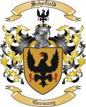 Schofield Family Crest from Germany