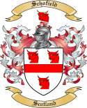 Schofield Family Crest from Scotland